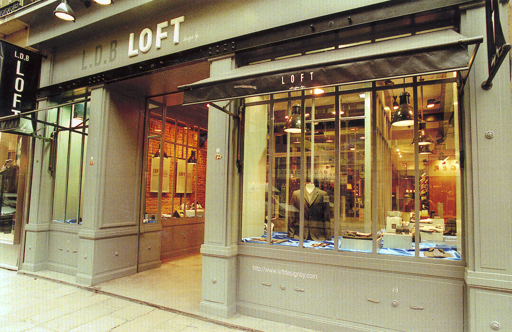 Magasin Loft design by... - Paris    Magasin Loft rue St Honoré