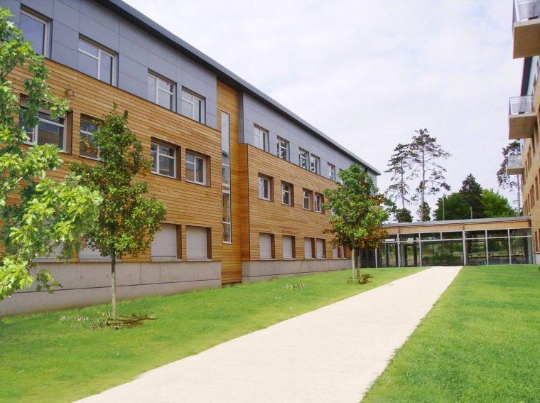 Compiègne -Résidence étudiants -Crous   Jardin intérieur