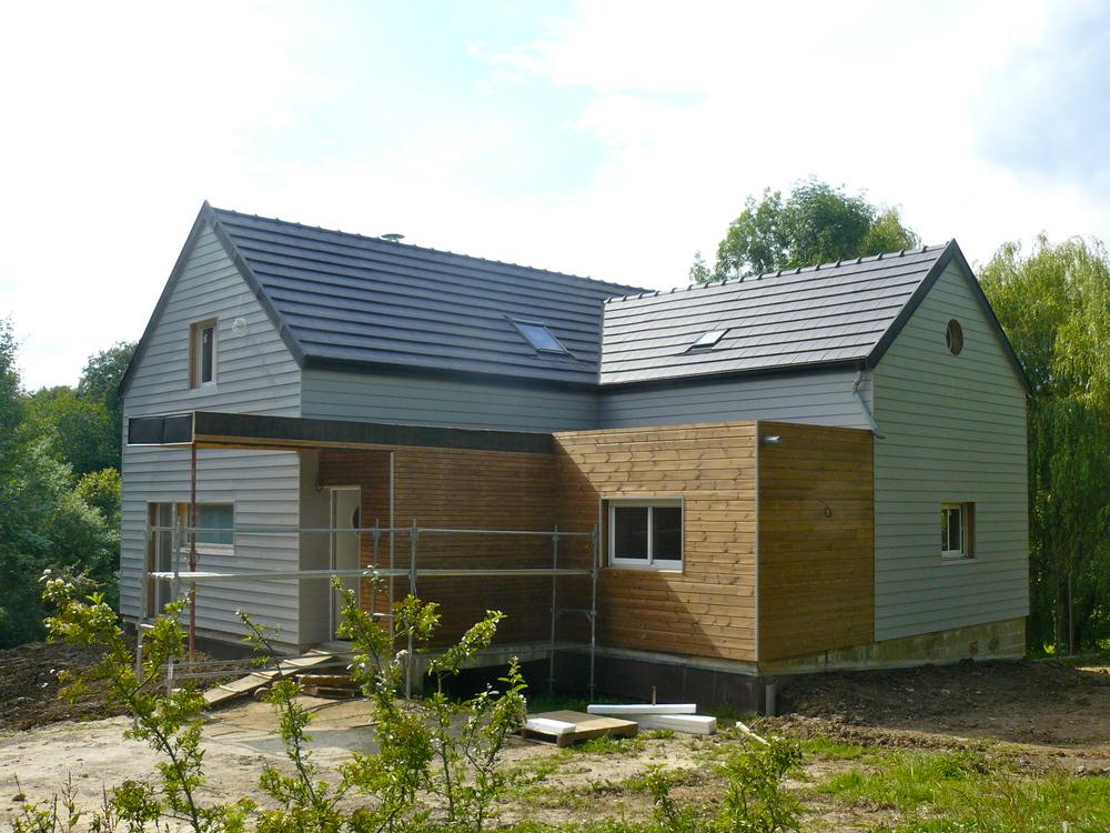 Reims Maison en bois