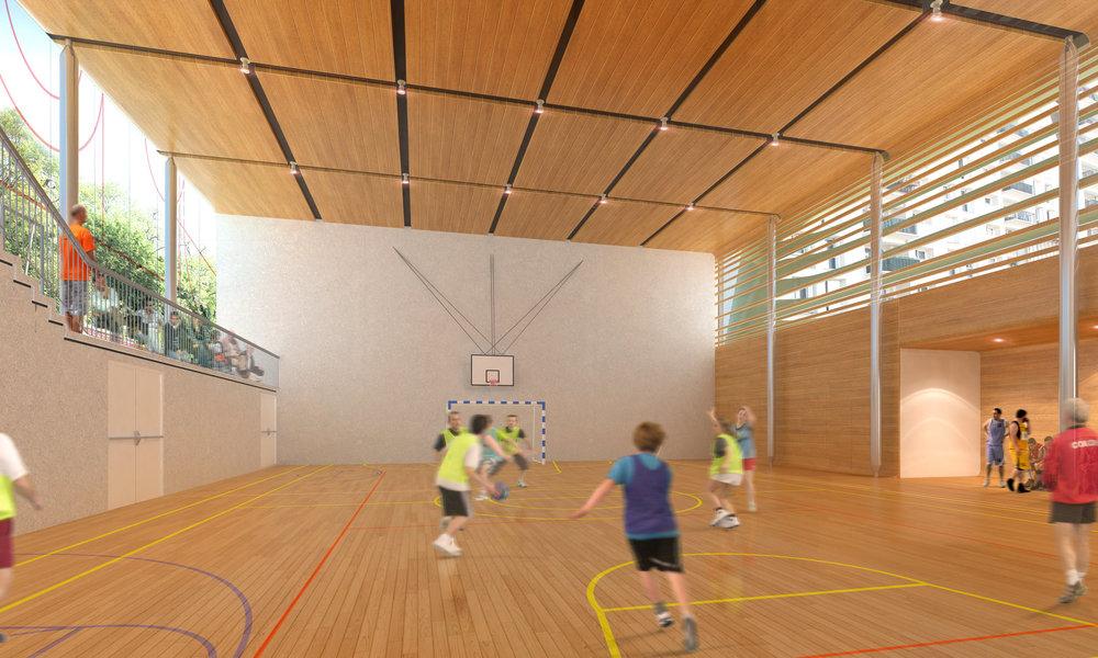 Salle de sport - Paris 20e