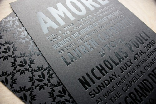 Clear Foil Stamp |  Source