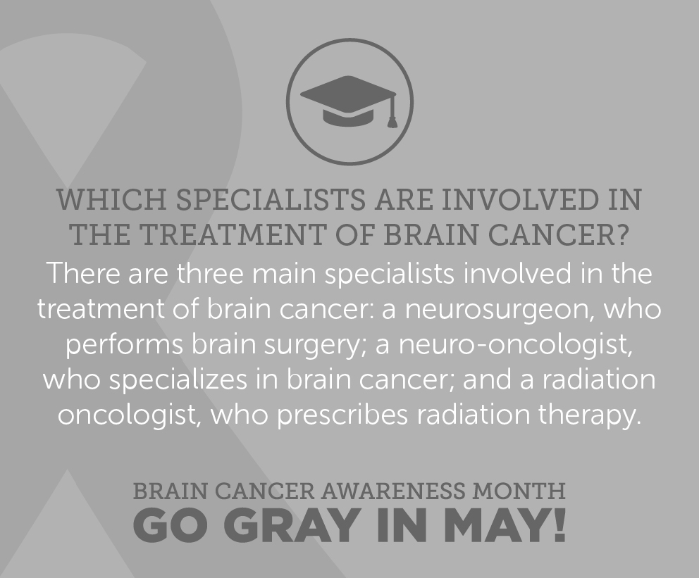 To learn more facts about brain tumors, click here: http://bit.ly/1NtRgOt