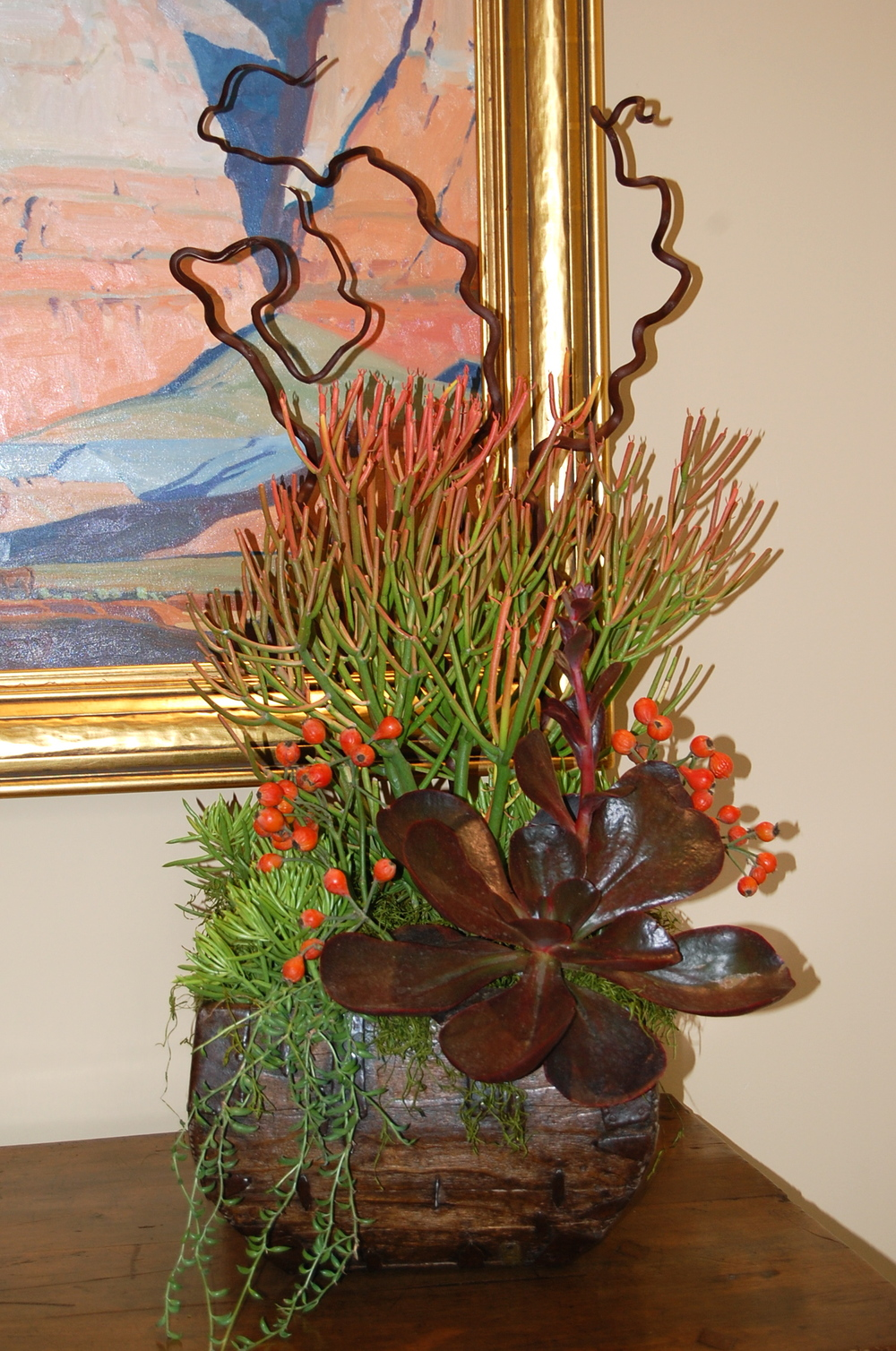 Customized Entryway Arrangement