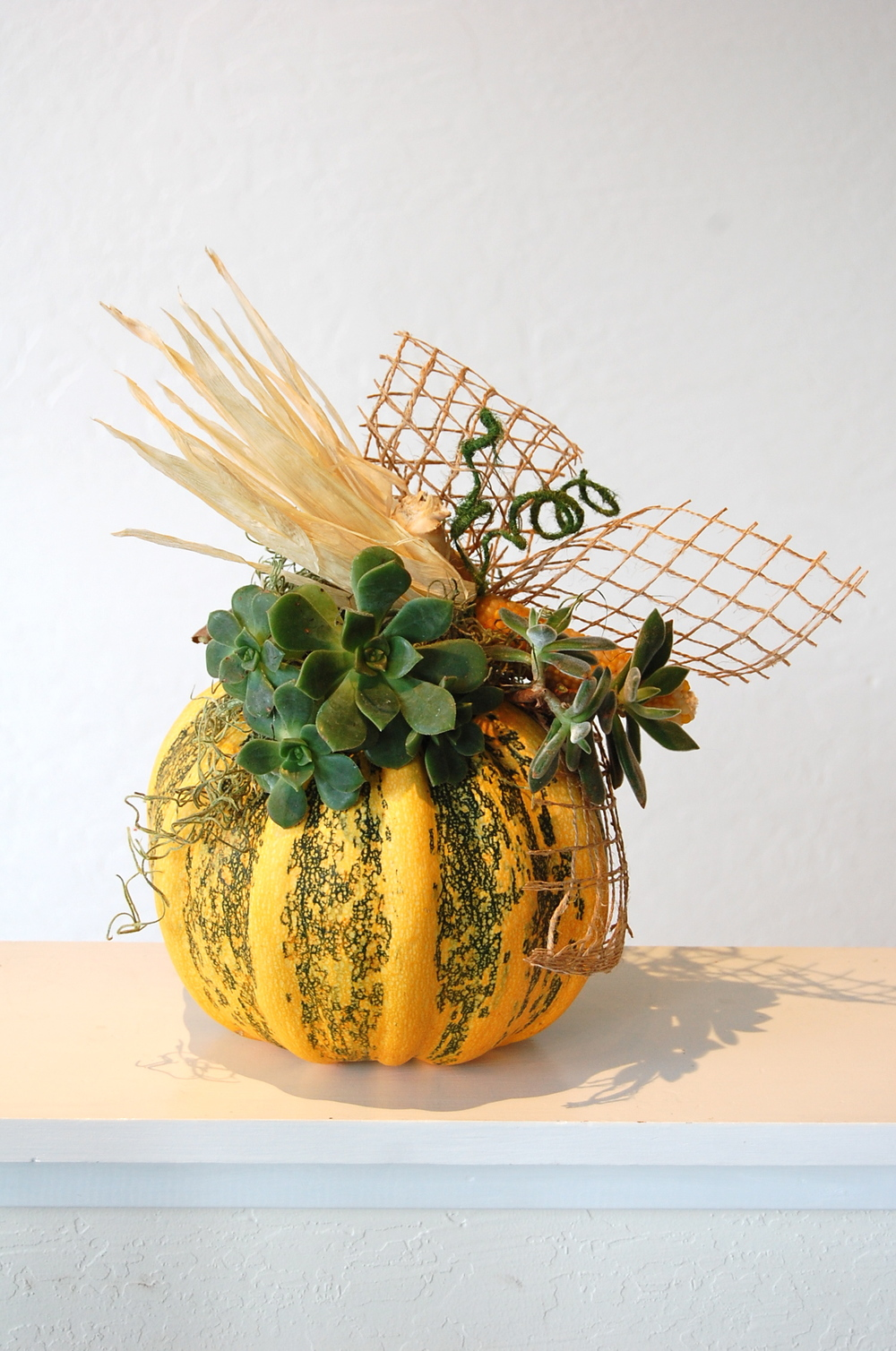 Autumn-Theme Pumpkin