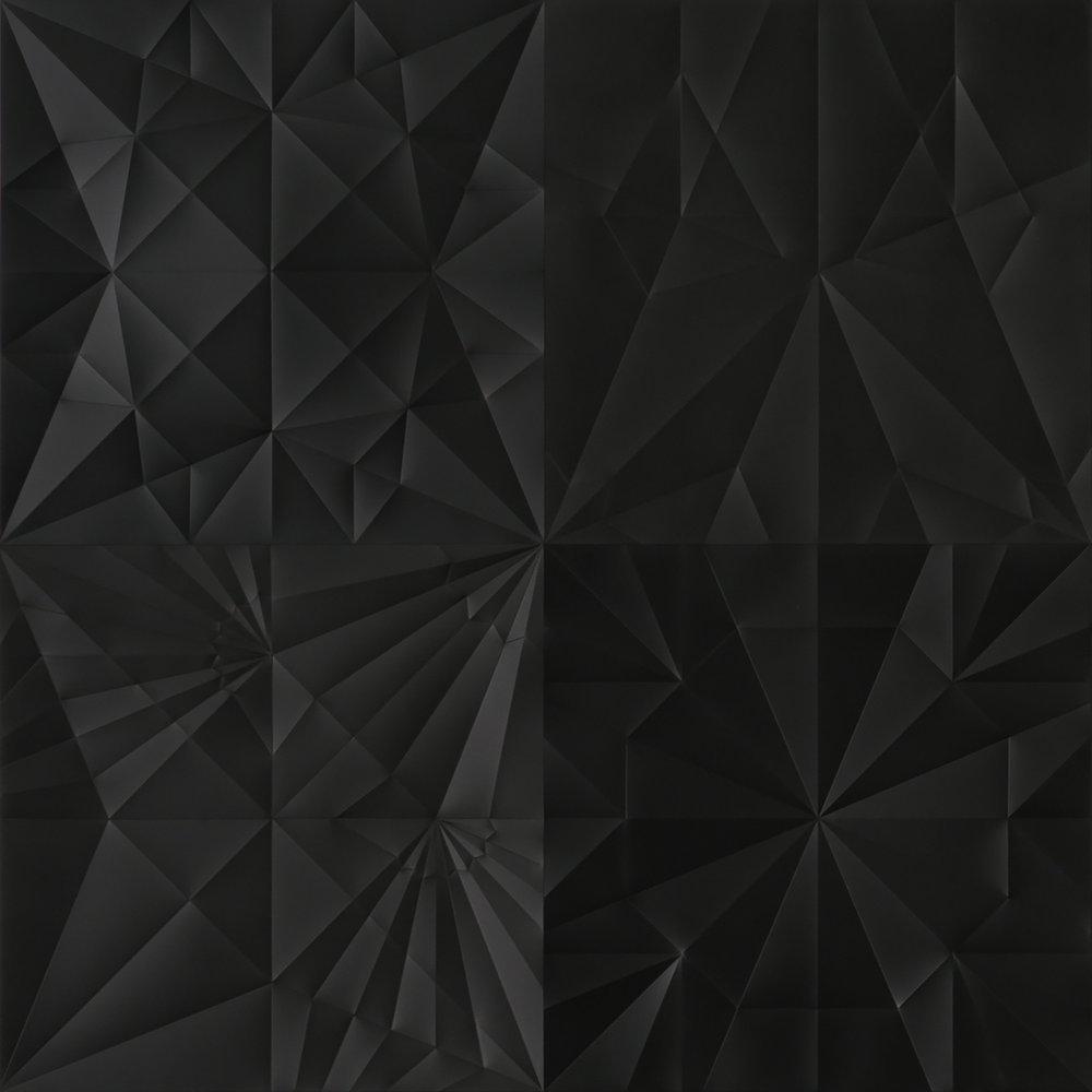 UNFOLDING COSMOS (detail)   2015 H200, W200, D1 cm Polycarbonate
