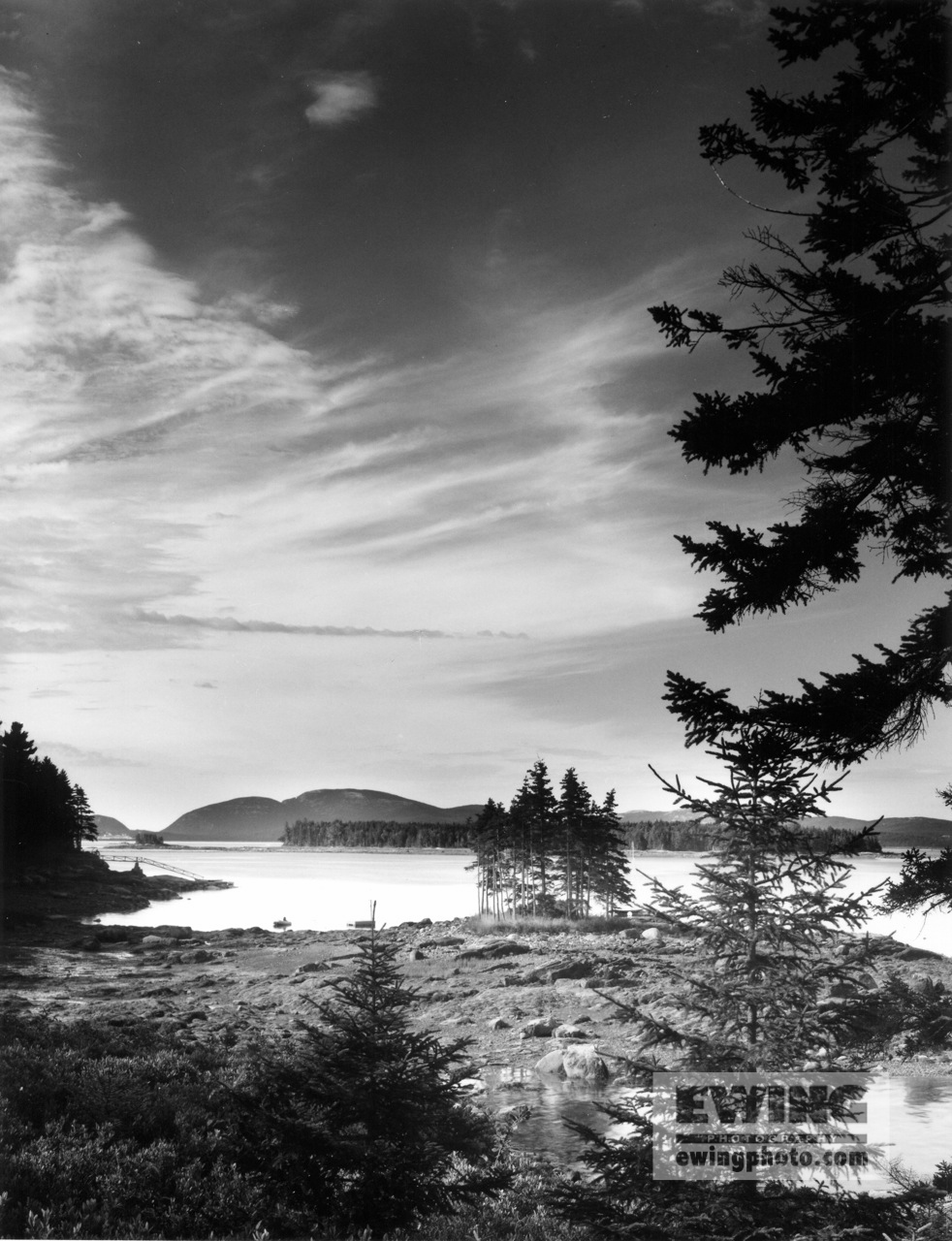 Frenchman Bay Acadia Mountains, Maine