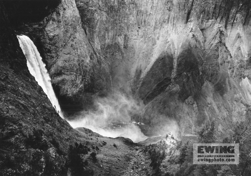 Lower Falls Gand Canyon of the Yellowstone