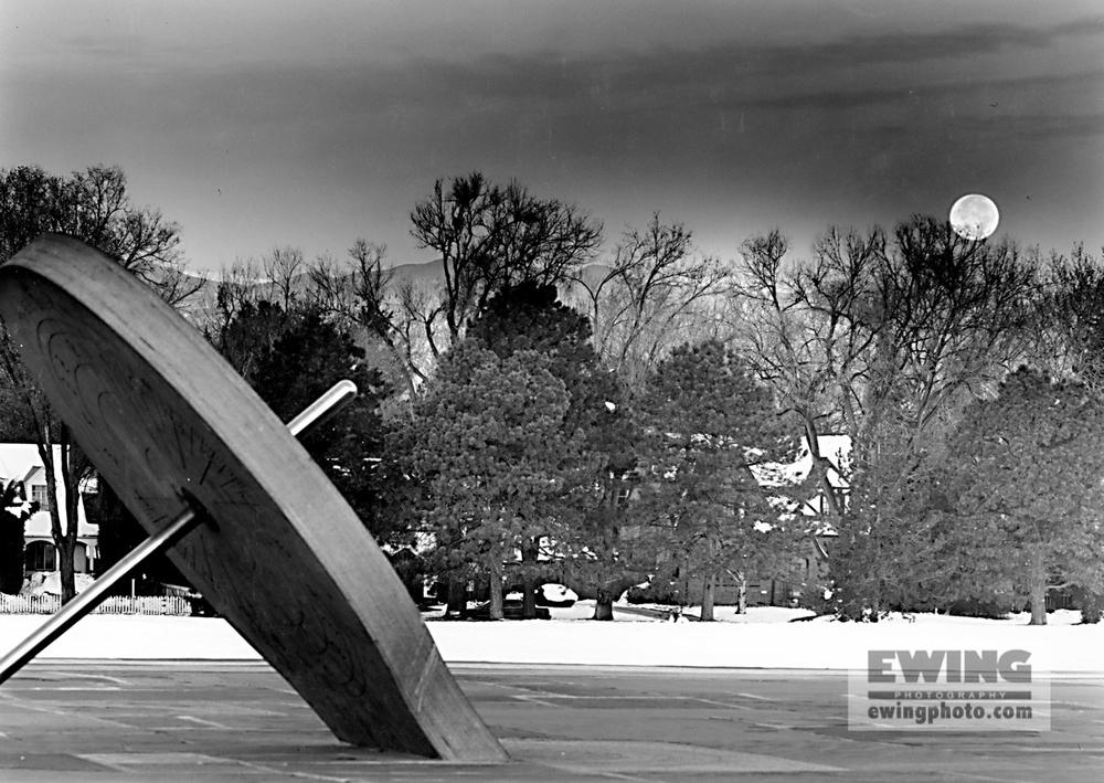 Sundial, Cranmer Park Denver, Colorado