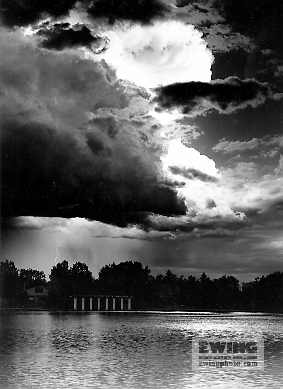 Thunder Storm, Washington Park Denver, Colorado #35796