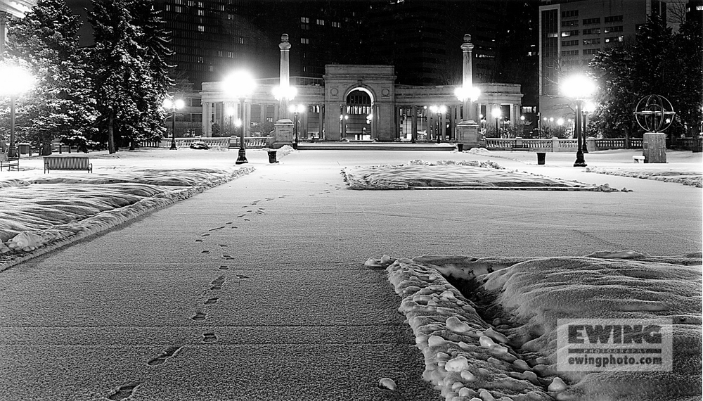Footsteps, Civic Center Denver, Colorado