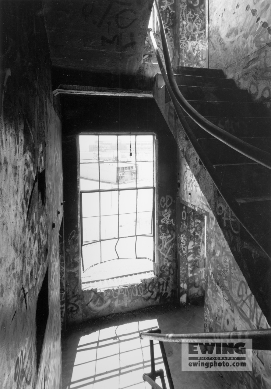 Stairway, Flour Mill Denver, Colorado