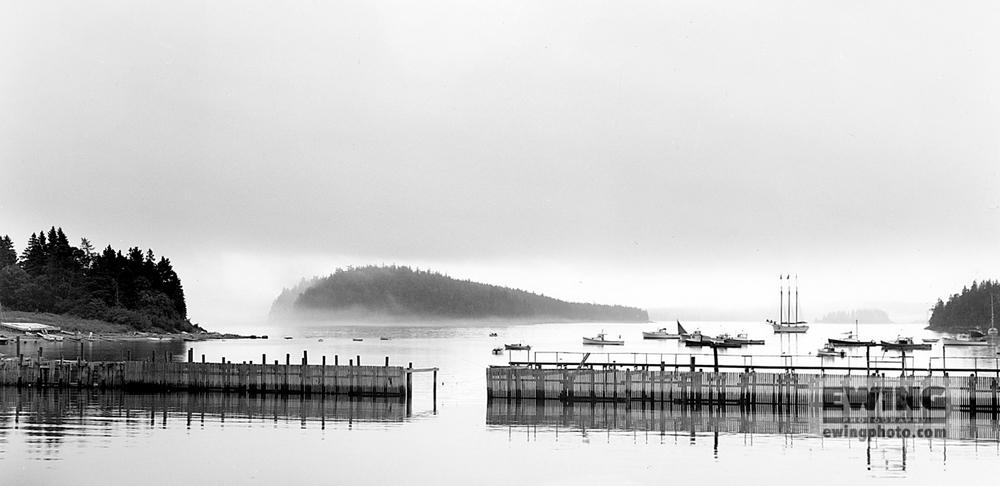 Lobster Pound, East Harbor Sorrento, Maine #22989