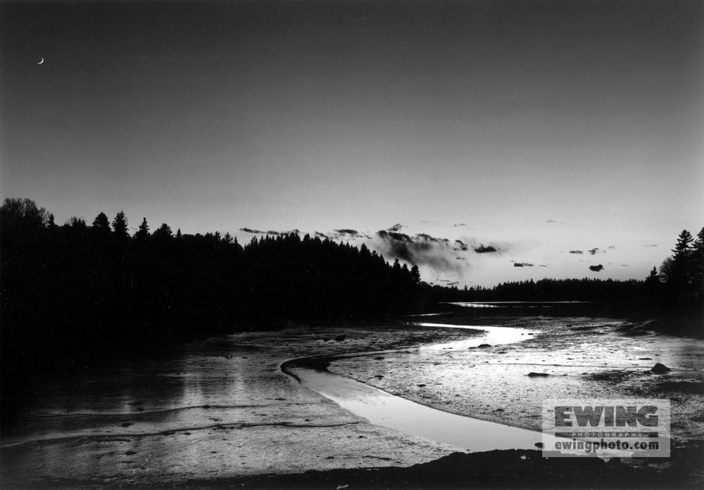 Mud Flats Addison Point, Maine