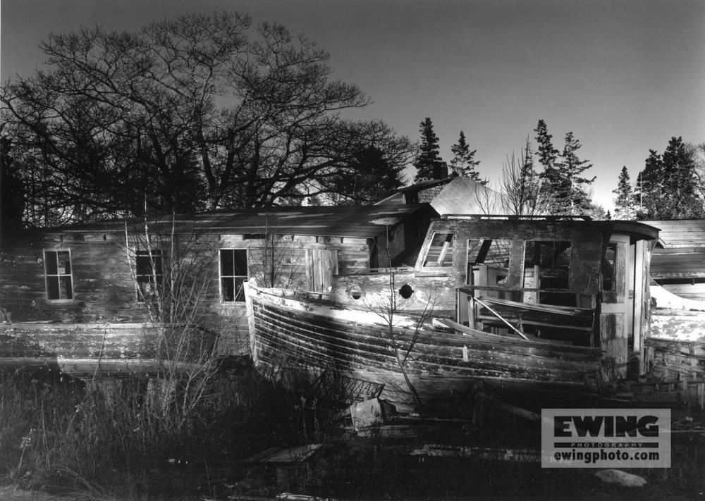 Andrew's Boatyard, November Eve Sorrento, Maine