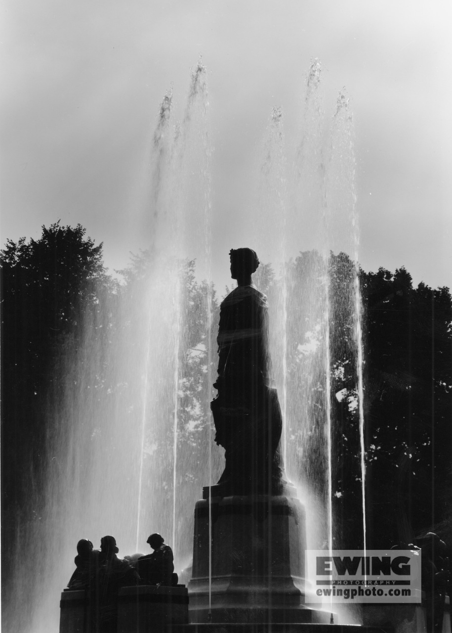 Thatcher Memorial Fountain, By L. Taft, City Park Denver, Colorado