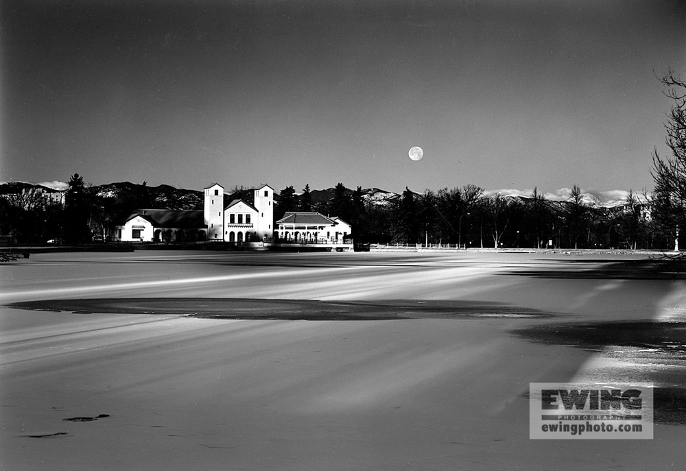 Last Full Moon of 1999, City Park Denver, Colorado