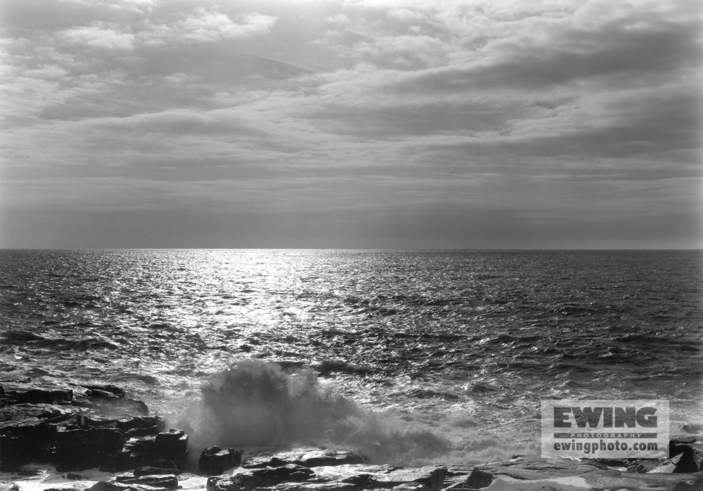 Atlantic Ocean Schoodic Point, Maine