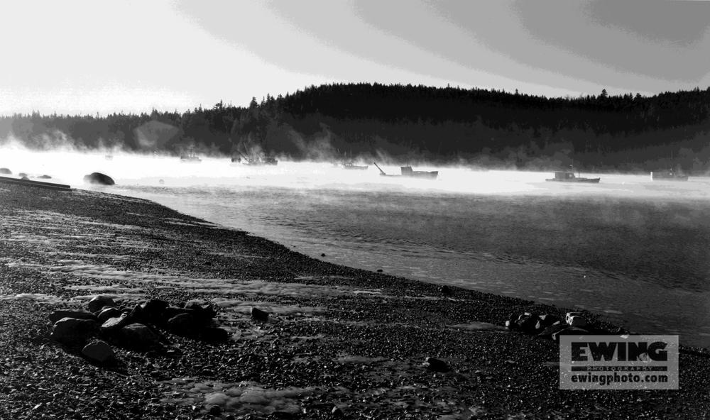 Sea Smoke, East Harbor Sorrento, Maine