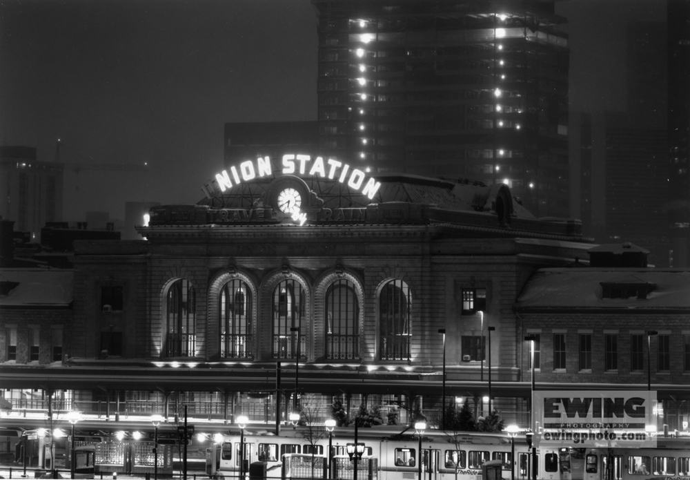 176509 Union Station, From The Millennium Bridge, Denver, CO