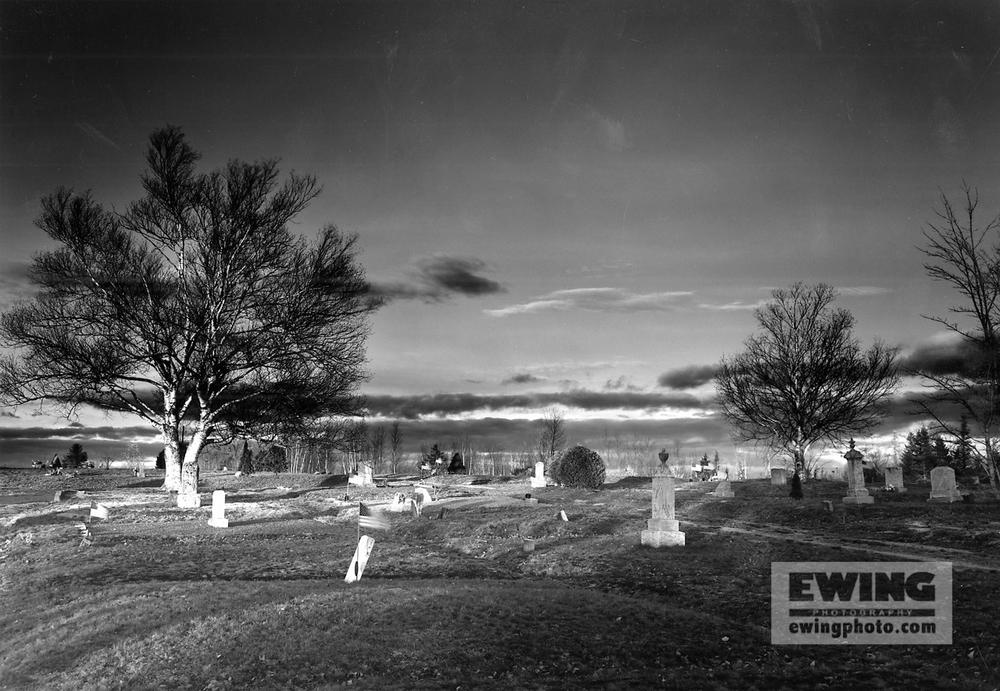 Graveyard, Mills Ridge Eastbrook, Maine