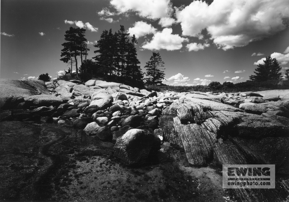 Bar Island Corea, Maine