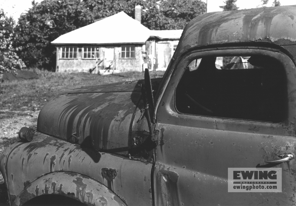 Truck, Andrew's Boatyard Sorrento, Maine