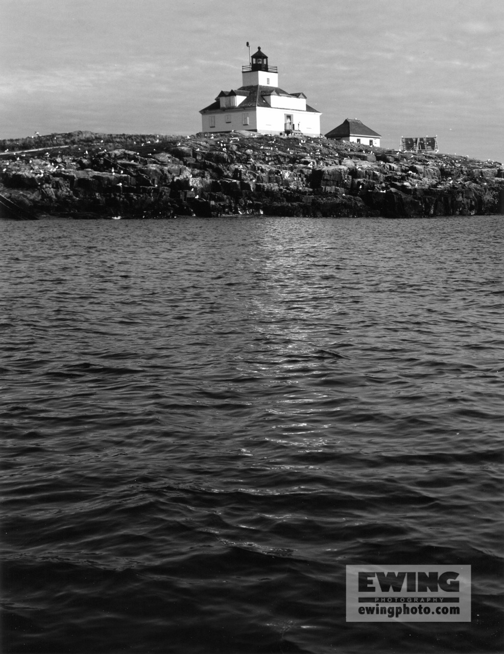 Egg Rock Light Frenchmans Bay, Maine