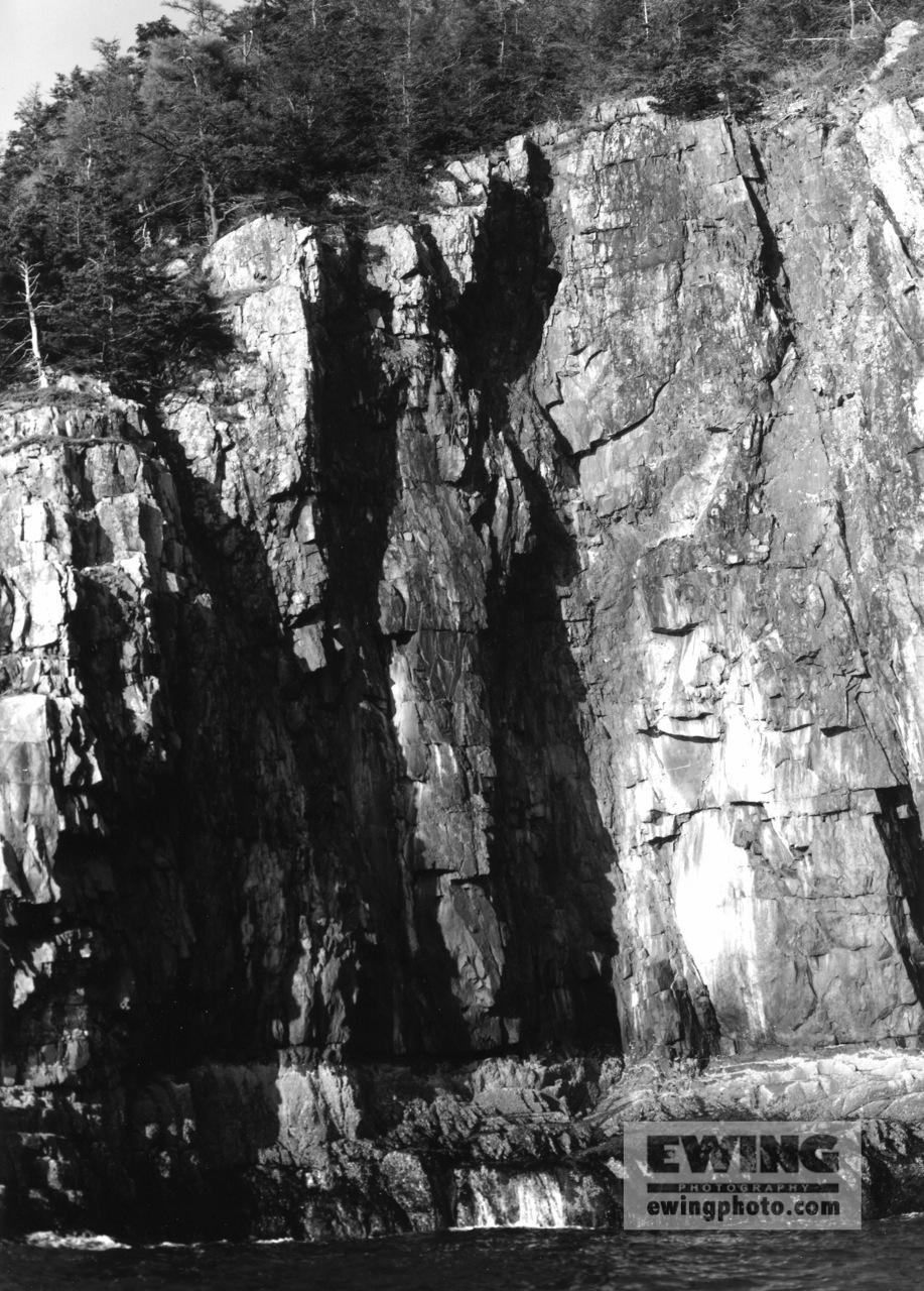 Cliffs of Ironbound Frenchman Bay, Maine