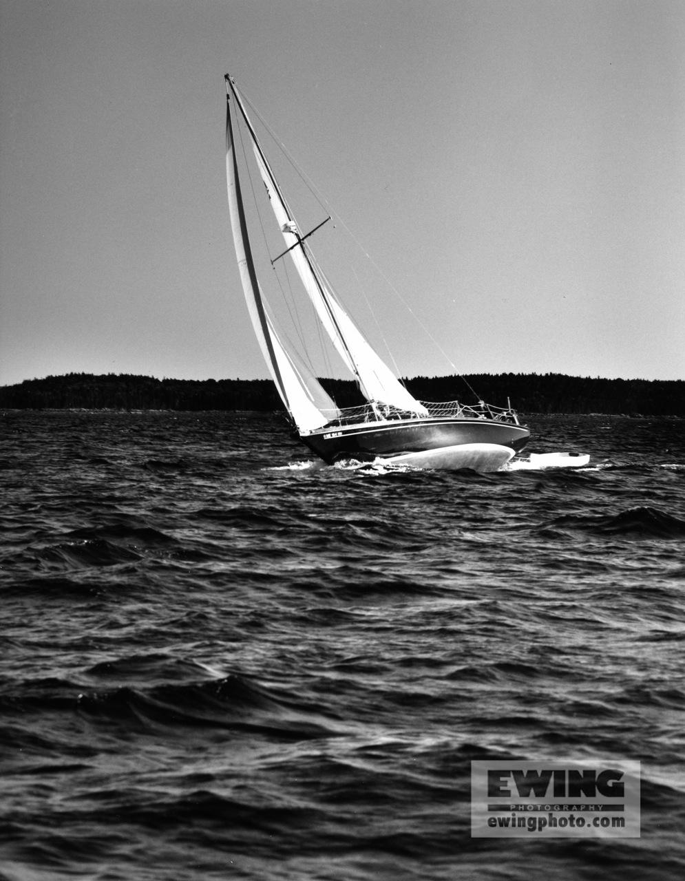 """""""Dawn Treader"""" Frenchman Bay, Maine"""