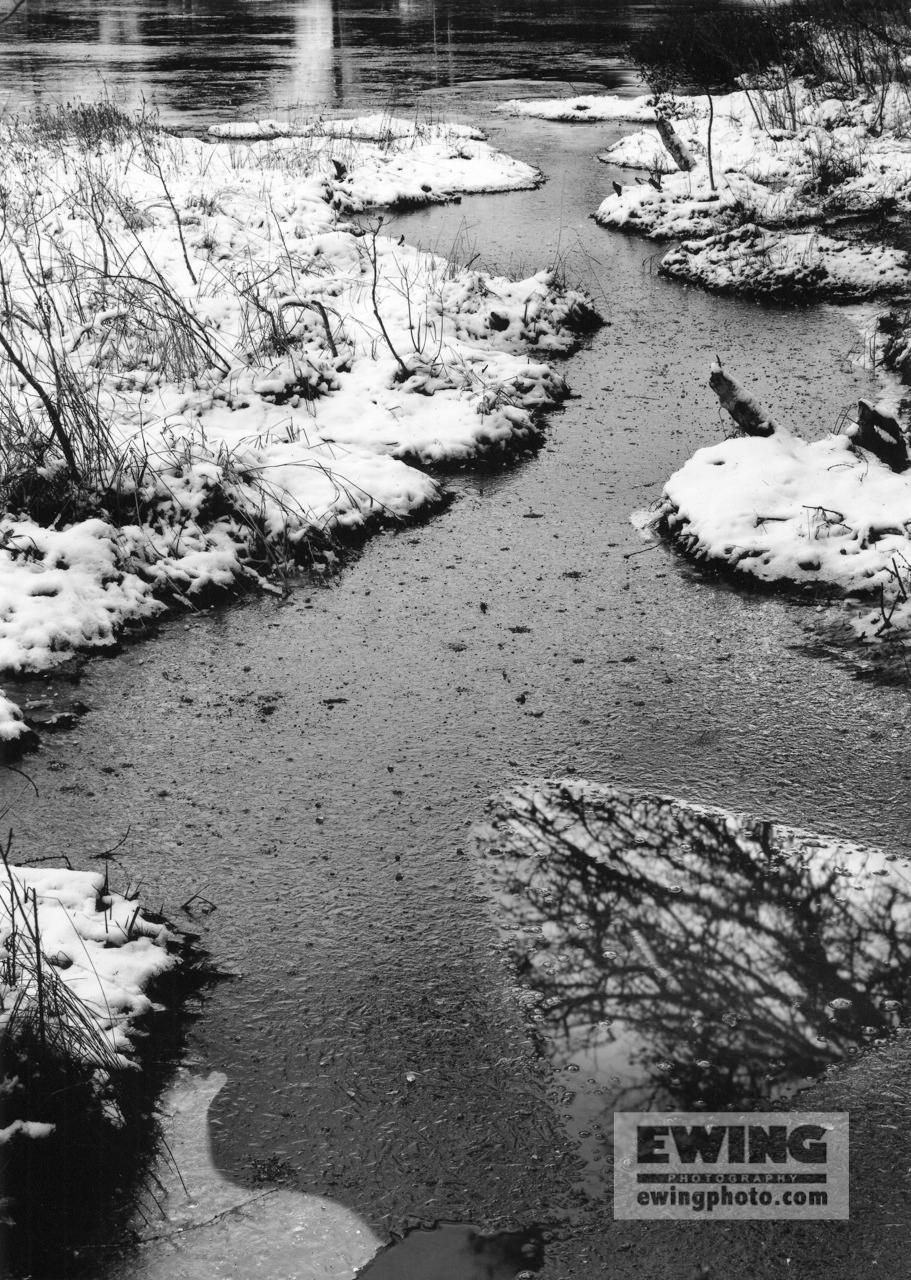 Ames pond, Stonington Maine