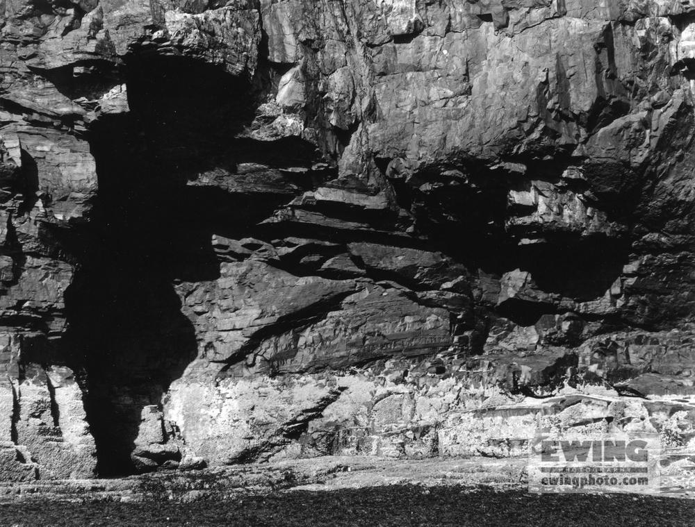 Cliffs of Ironbound island , Maine -3