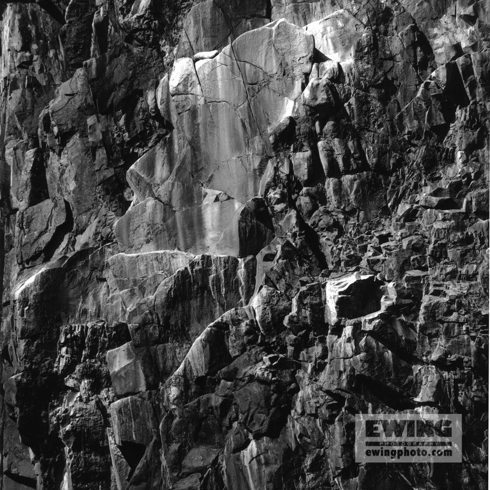 Cliffs of Ironbound island , Maine -6