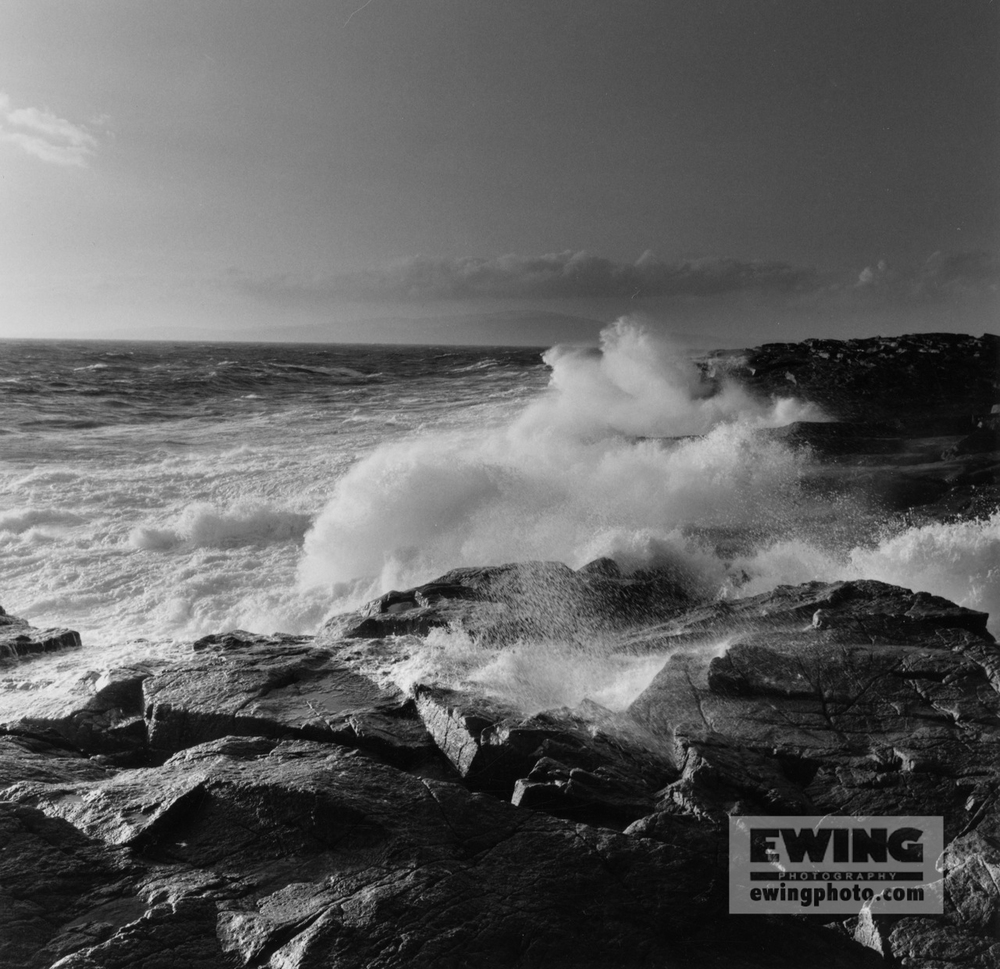 Crashing Waves Schoodic Point, Maine