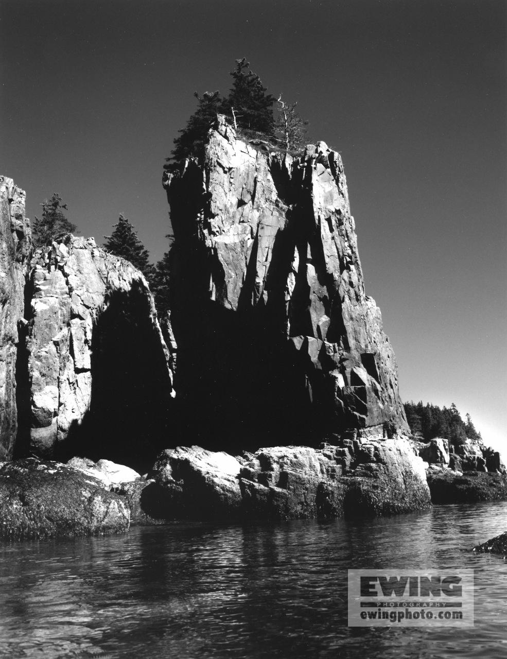 Cliffs of Ironbound Island Frenchman Bay, Maine