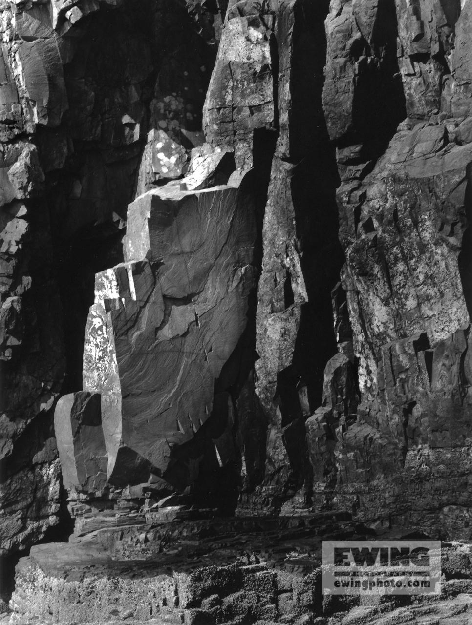 Cliffs of Ironbound Island Frenchman Bay, Maine  #10