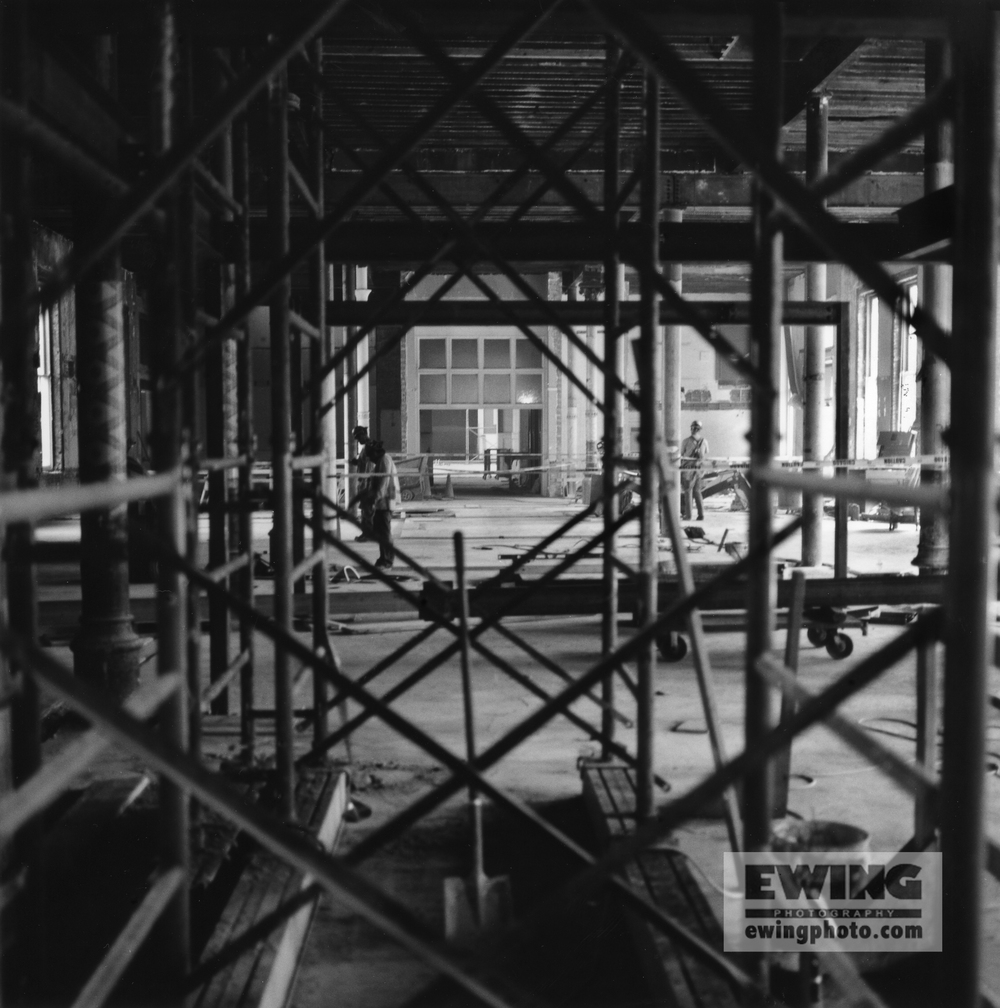 Through The Scaffold, Union Station, Denver, CO
