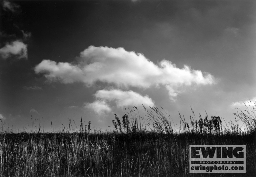 Clouds at The Land Institute, Hagg Property, Salina, KS