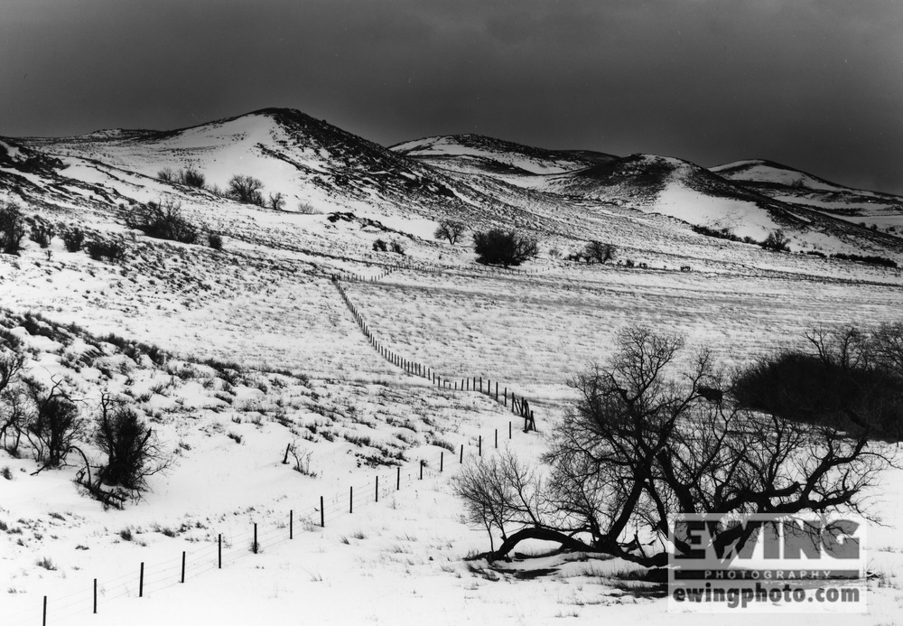 Rd. 487, Cameron Gulch, Wyoming