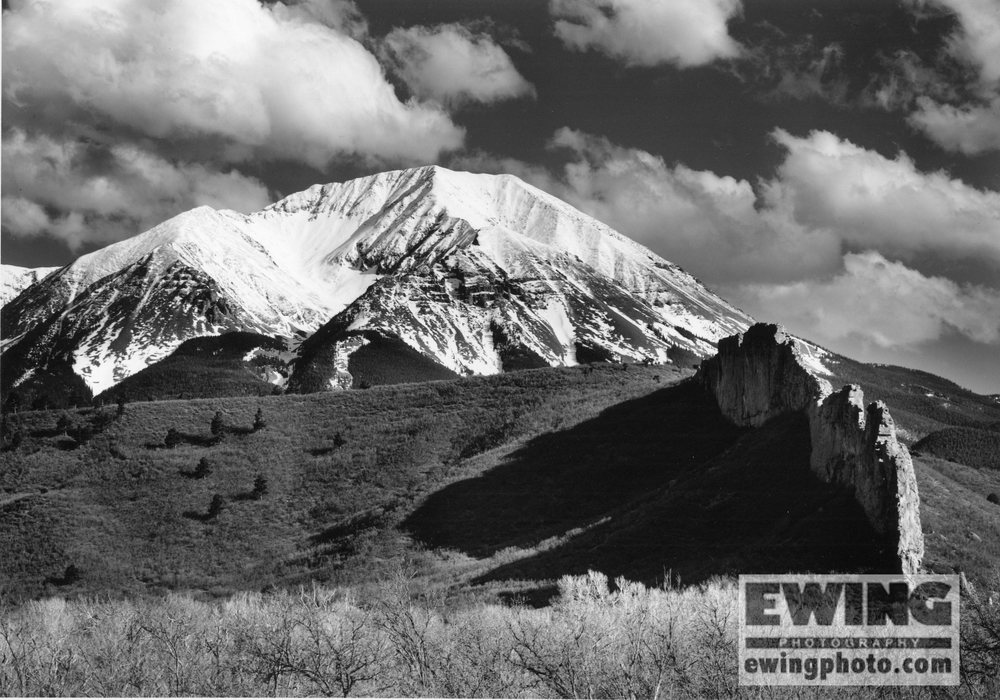 West Spanish Peak with Dikes, La Veta Colorado