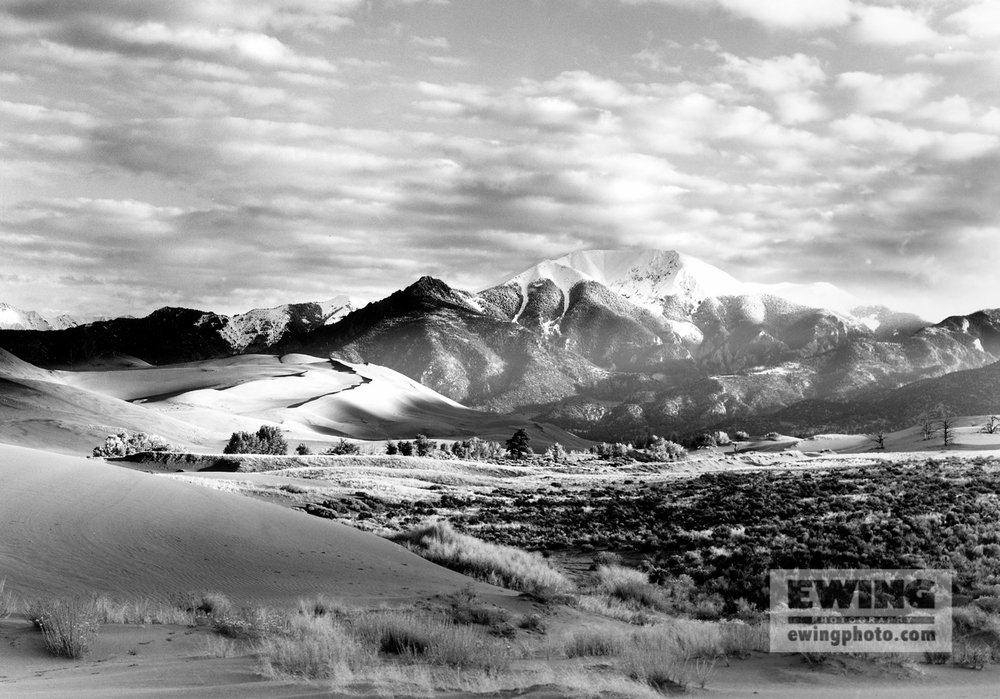 Mount Herard Great Sand Dunes National Park Colorado - 1990