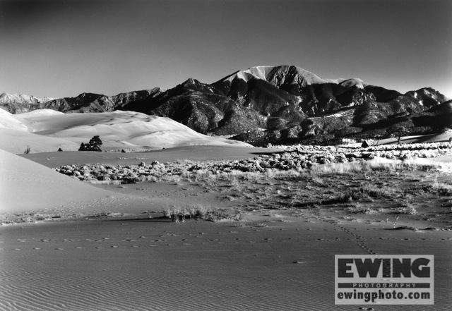 Mount Herard Great Sand Dunes National Park Colorado   - 2014
