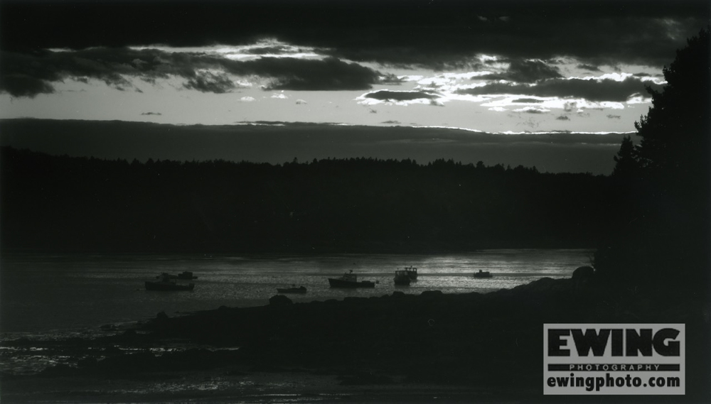 Sullivan Harbor Maine – Print of The Month