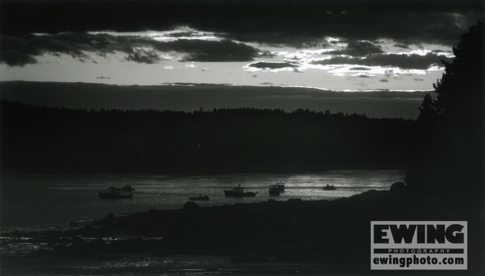 Sullivan Harbor Maine – Print of The Month