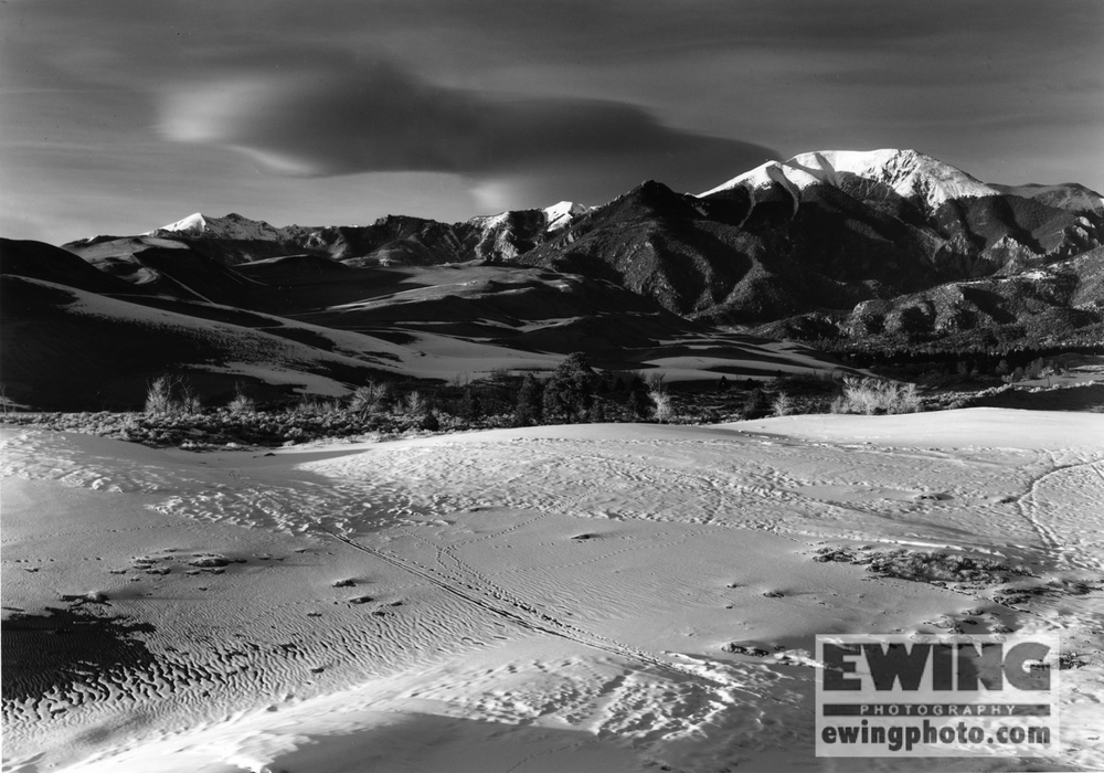 Mount Herard Great Sand Dunes National Park Colorado