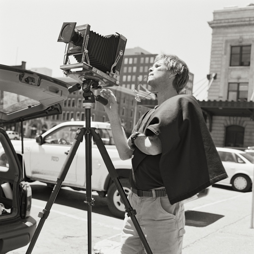 Gifford Ewing Downtown Denver with Deardorff Camera