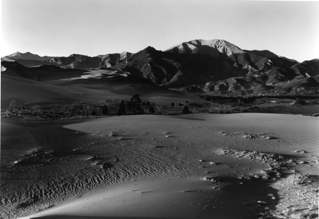 Mount Herard, Evening at Great Sand Dunes National Park