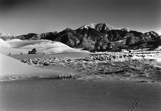 Mount Herard – Morning Great Sand Dunes National Park