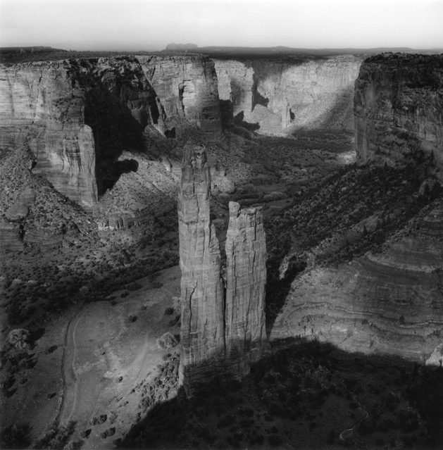 Canyon DeChelly  Spider Rock  Arizona