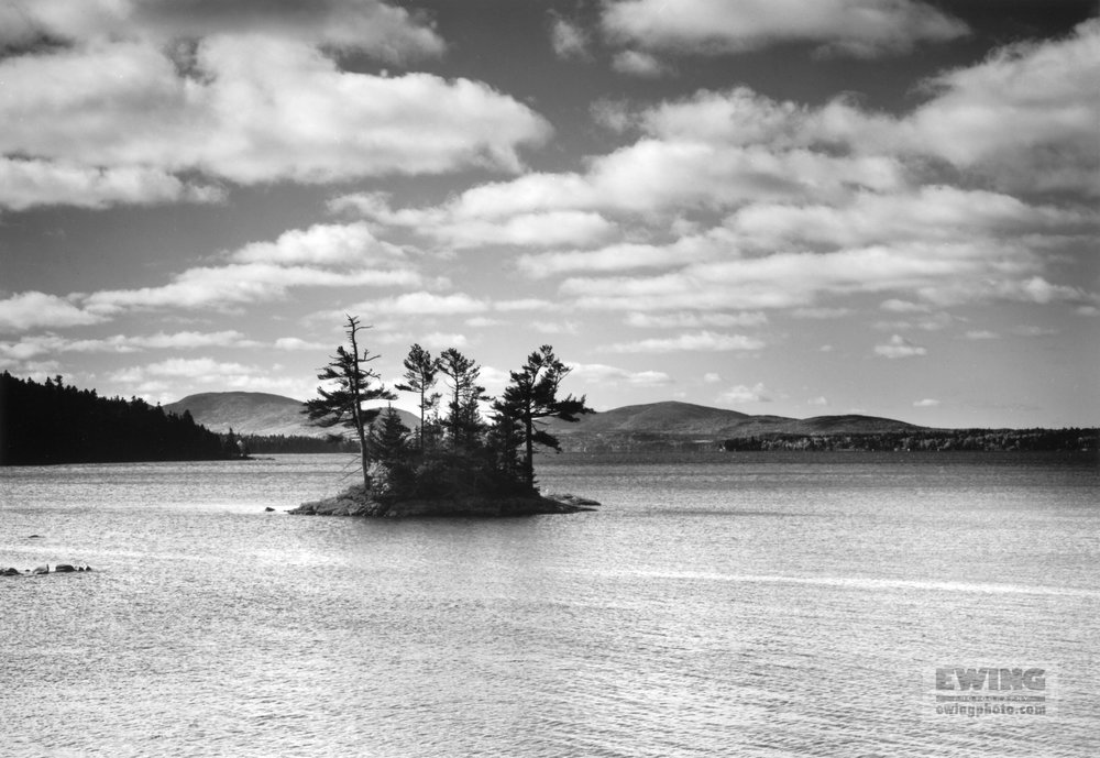 Little Island  Sullivan Harbor,  Maine