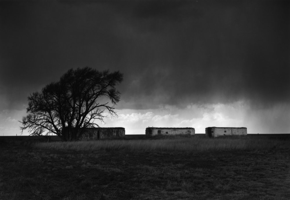 Railroad Cars, Melrose, New Mexico